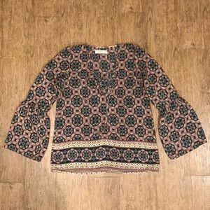 Abercrombie & Fitch printed top